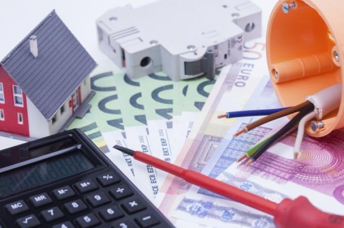Bedrag voor huur en servicekosten