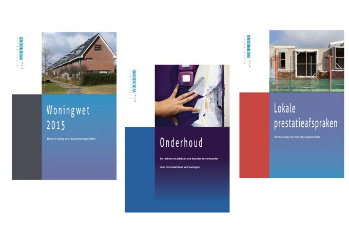 Brochures in webwinkel Woonbond