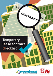 Checklist temporary lease contract