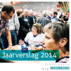 Cover Jaarverslag 2014