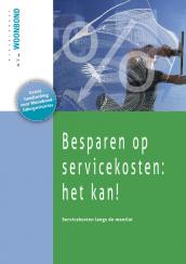 Cover ledenbrochure servicekosten