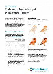 voorblad Infoblad Vocht en schimmel