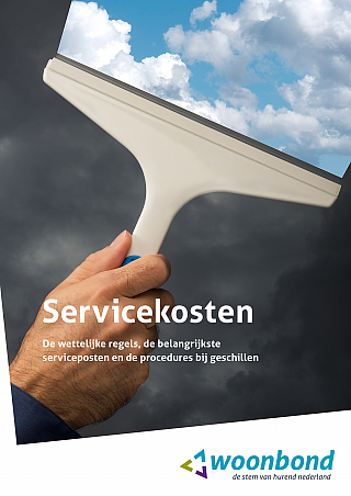 Cover Woonbondboek Servicekosten