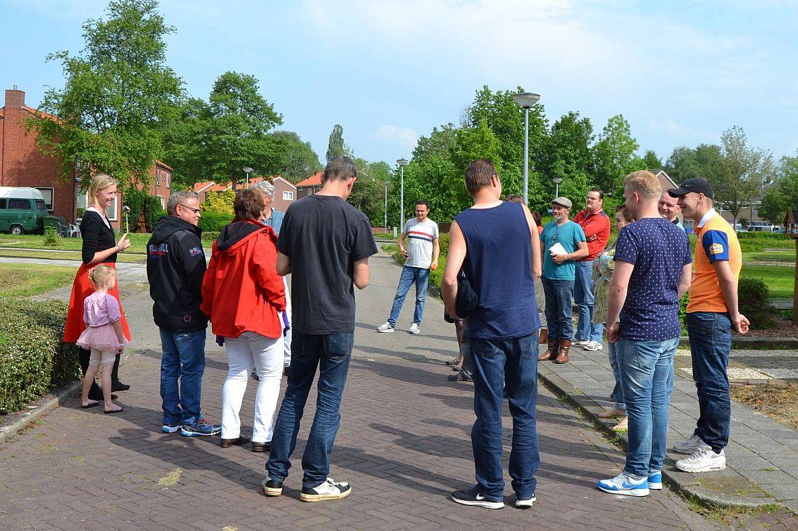 Bewonersbijeenkomst van Wooncoöperatie Finsterwolde