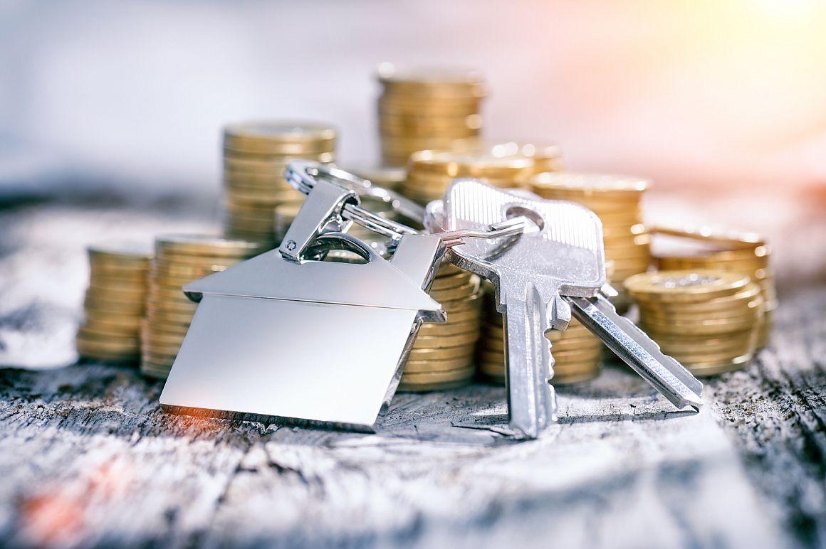 Huissleutel en geld