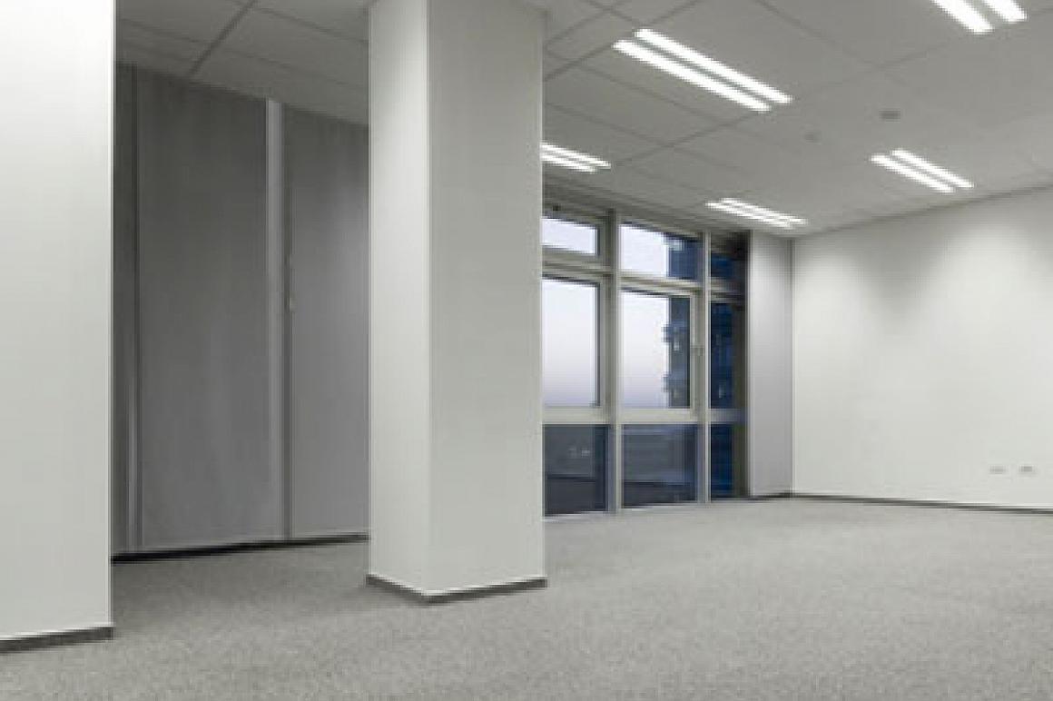 Leeg kantoor