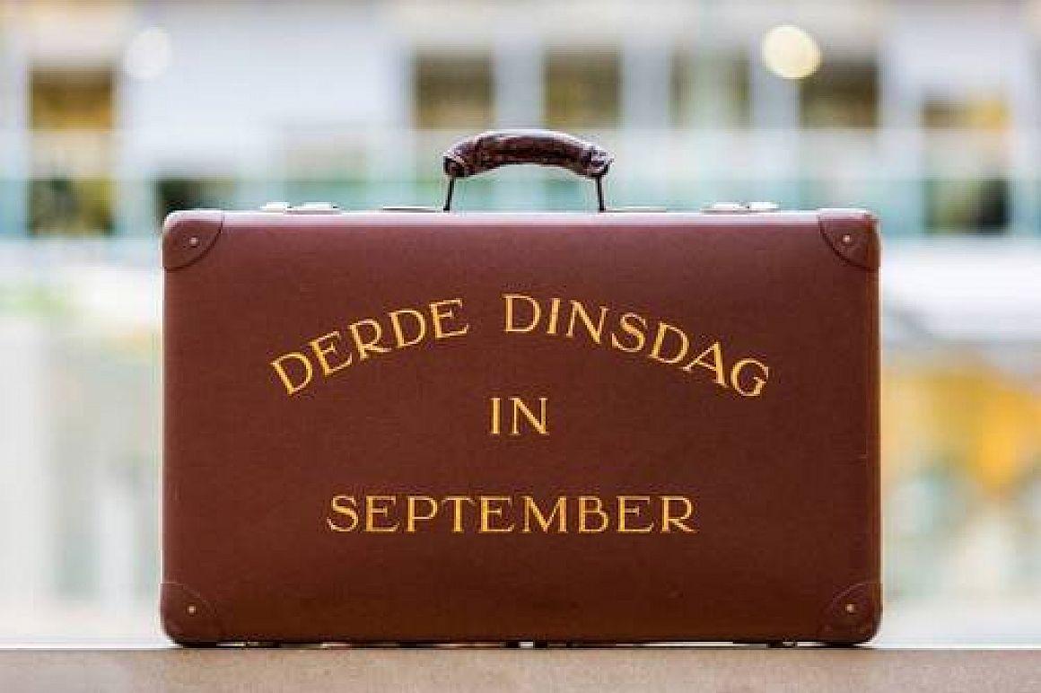 Iedere derde dinsdag van september is het Prinsjesdag