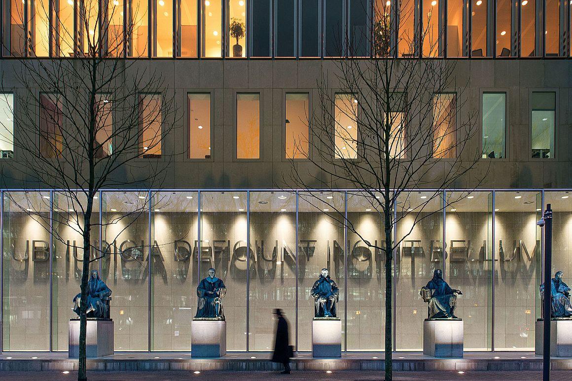 Gebouw van de Hoge Raad in Den Haag