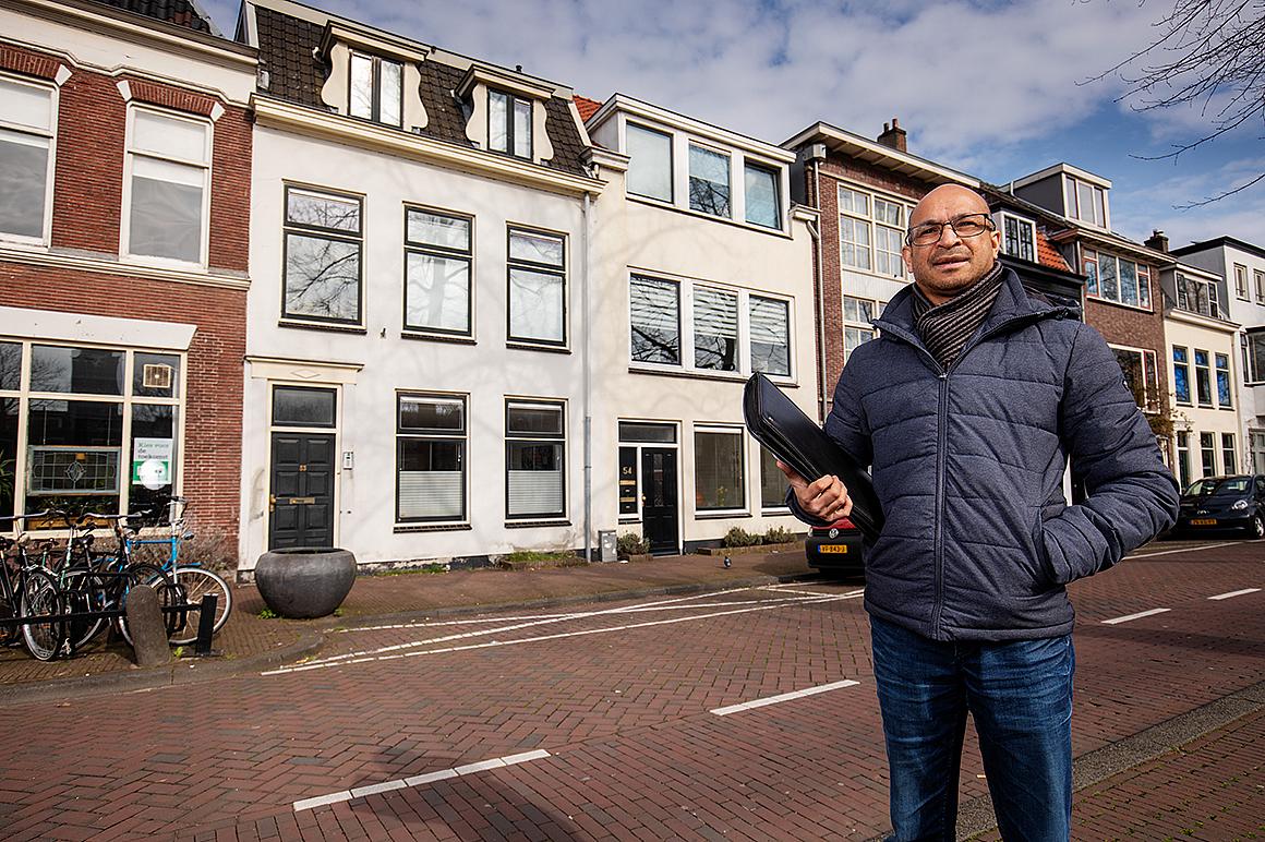 Bob Soepoesepa van Huurteam Utrecht.