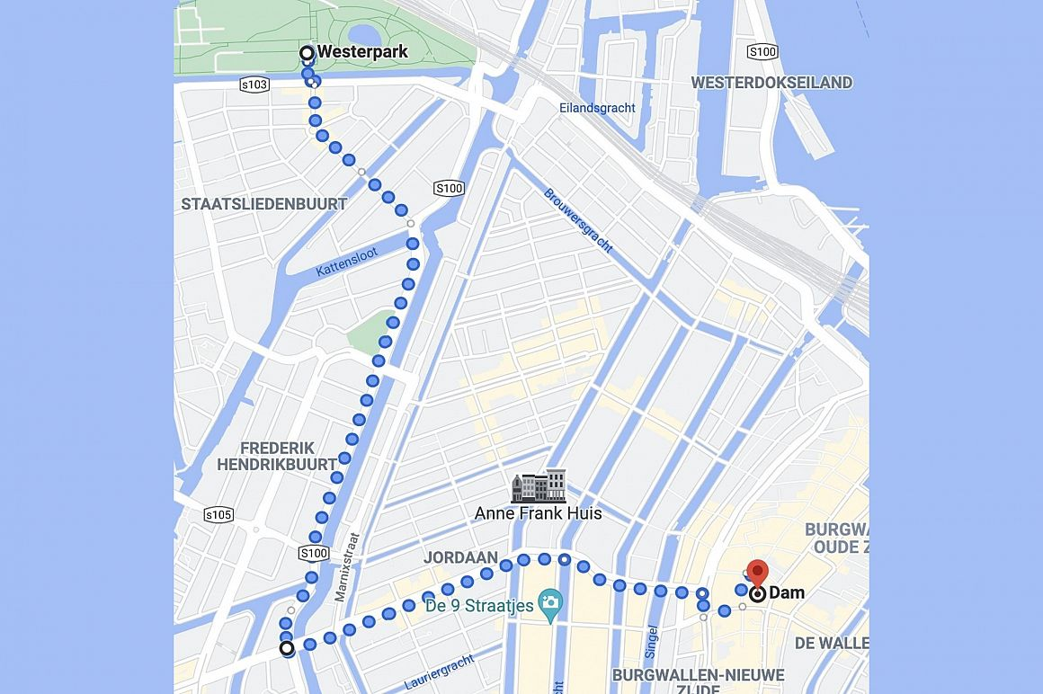 Route woonprotest