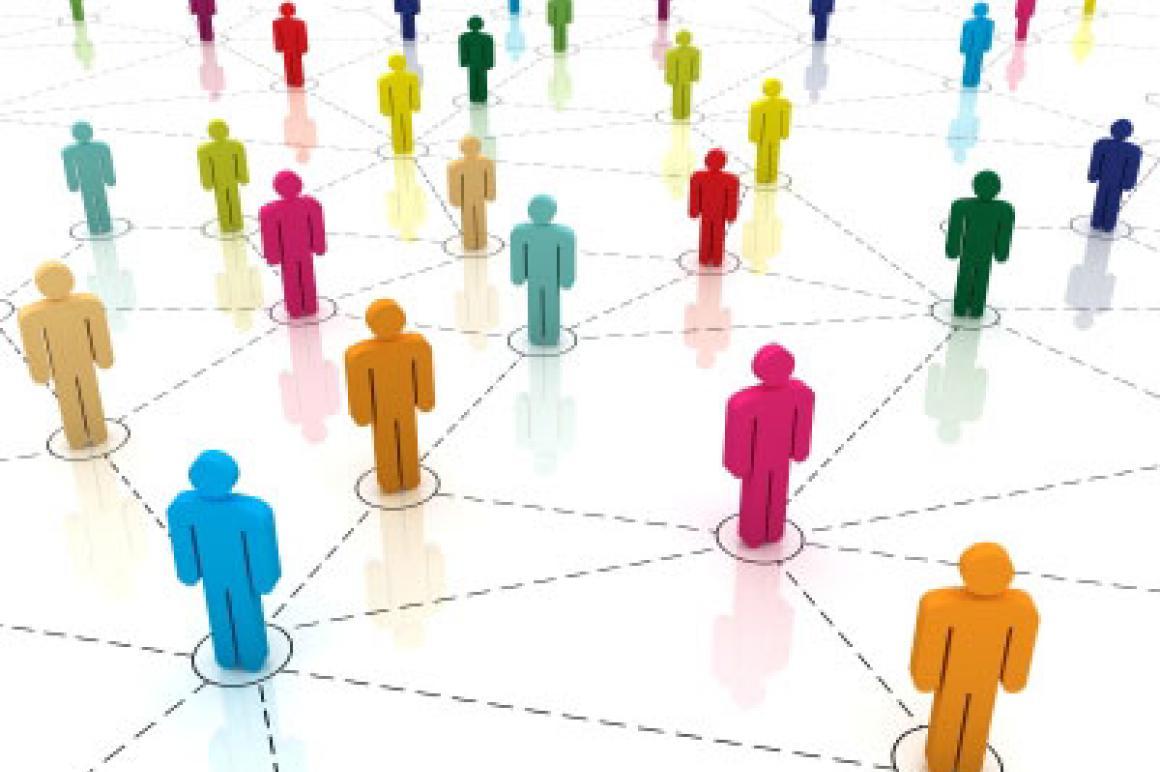 Netwerk van personen