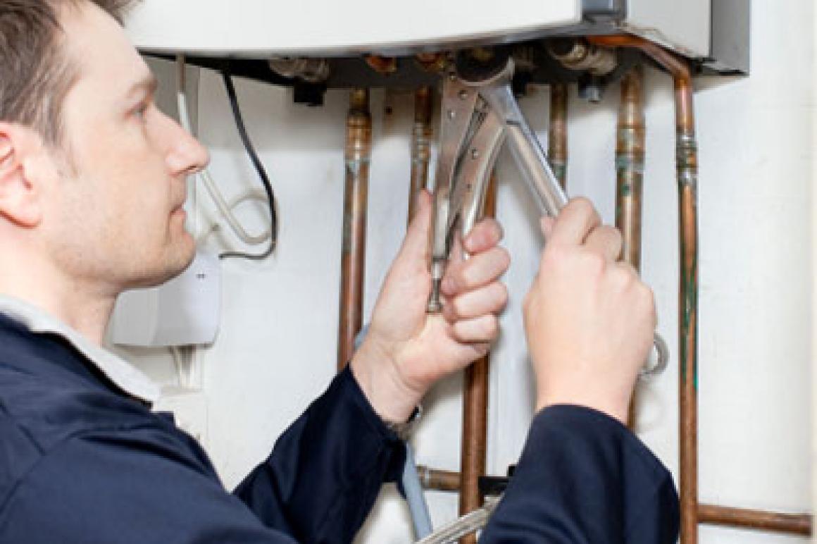 Reparatie verwarmingsketel
