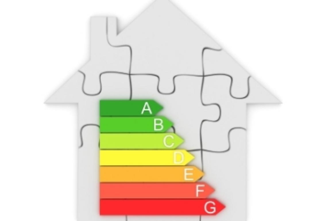 Huisje met energielabel
