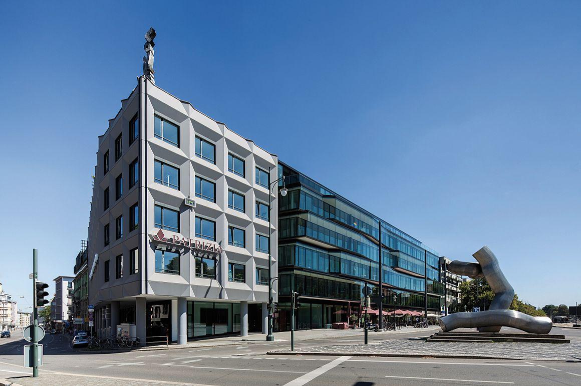Hoofdkantoor van belegger Patrizia in Augsburg