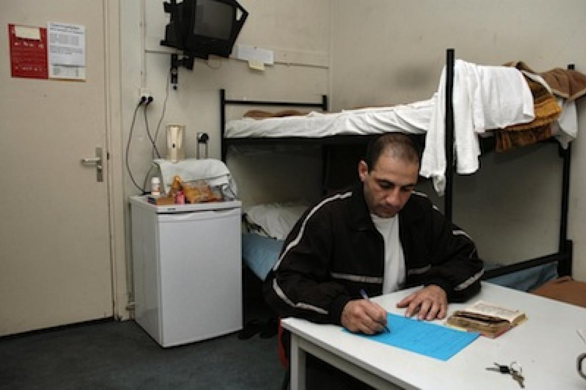 Opvang asielzoekers in opvanglocatie van COA