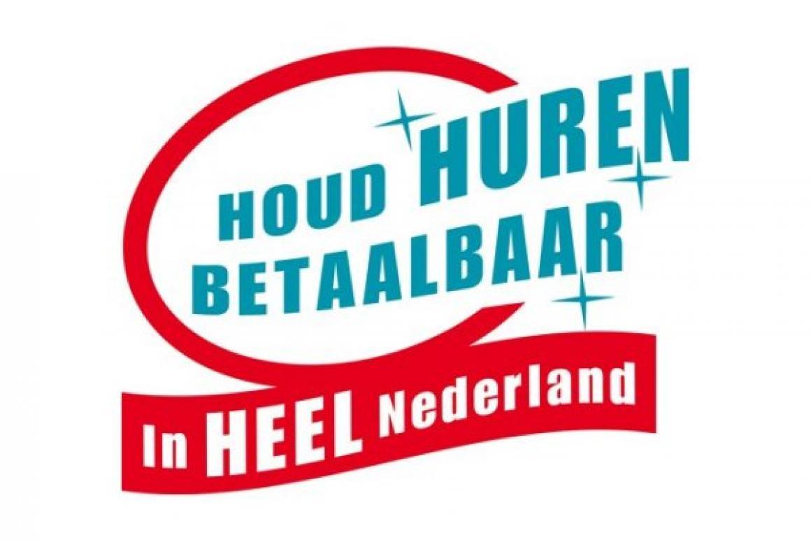 Houd huren betaalbaar in heel Nederland