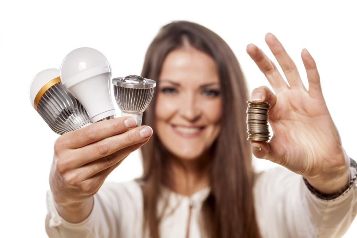 Vervang kapotte lampen door led-lampen