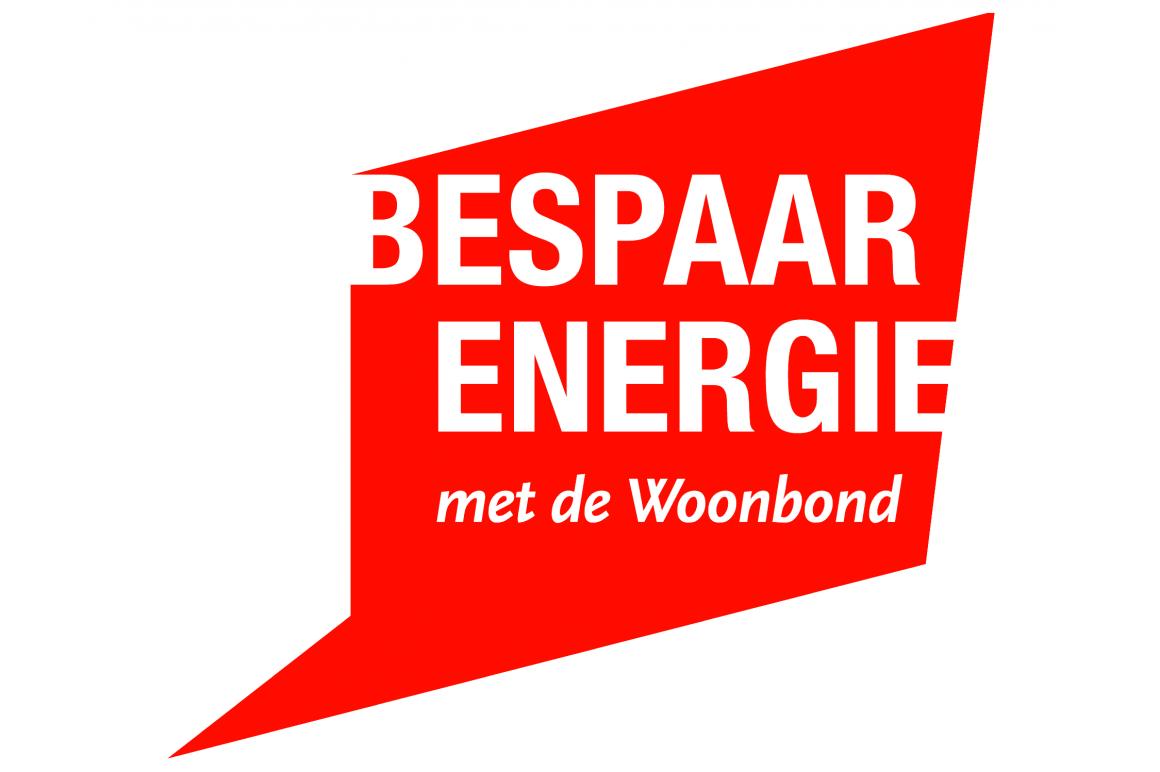 Logo Bespaar Energie met Woonbond
