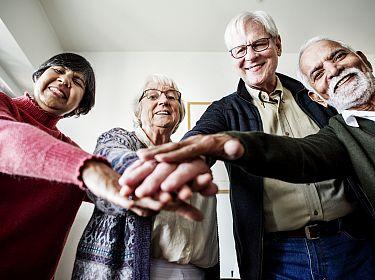 Groep senioren