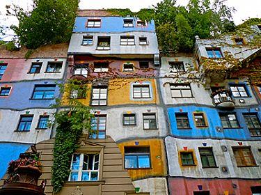 Hundertwasserhaus in Wenen