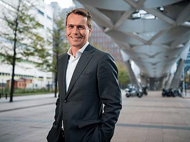 Wynand Verhoef, acquisiteur Onroerend Goed bij MN.