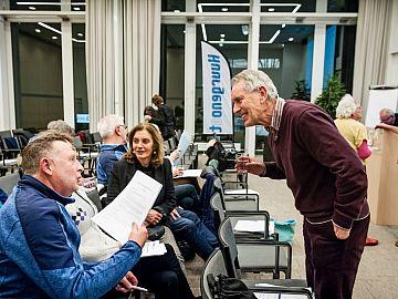 Algemene ledenvergadering van Huurgenoot in Amsterdam, maart 2018