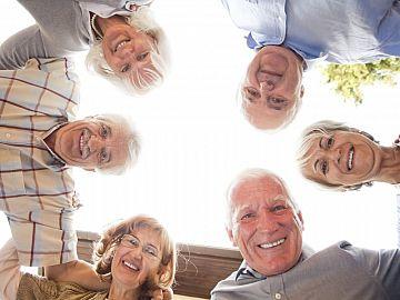 Groep ouderen