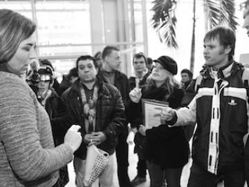 Antikraakactie bij Rochdale, maart 2013