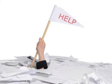Bedolven onder bureaucratie