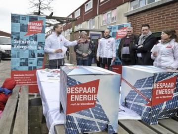 Energiebusbezoek in Alphen