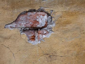oslatend stucwerk