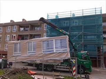 Renovatie in de Groningse Voermanlaan