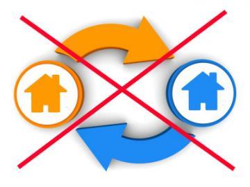 Woningruil gaat niet door