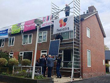 Corporatie plaatst zonnepanelen