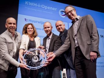 Uitreiking KWH-i-Opener 2015