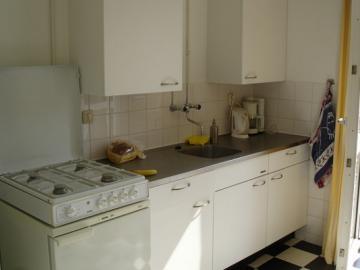 Keuken in Amsterdamse huurwoning