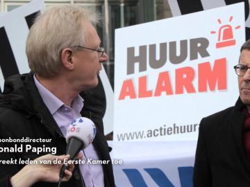 Videoverslag Huuralarm in Den Haag