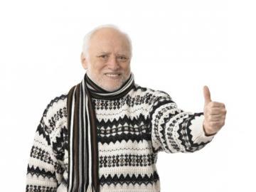 Man draagt warme trui